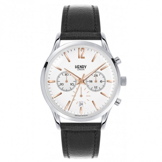 Chronograph Men's Watch Collection Henry London Highgate