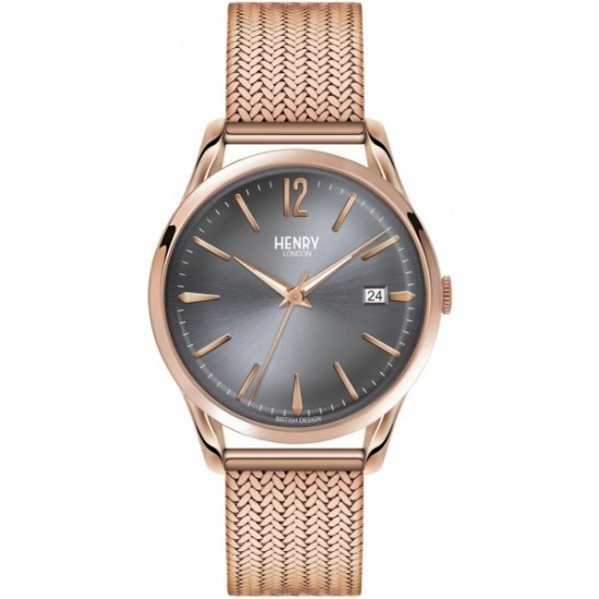 Henry London Unisex Only Tempo Collection Finchley HL39-M-0118