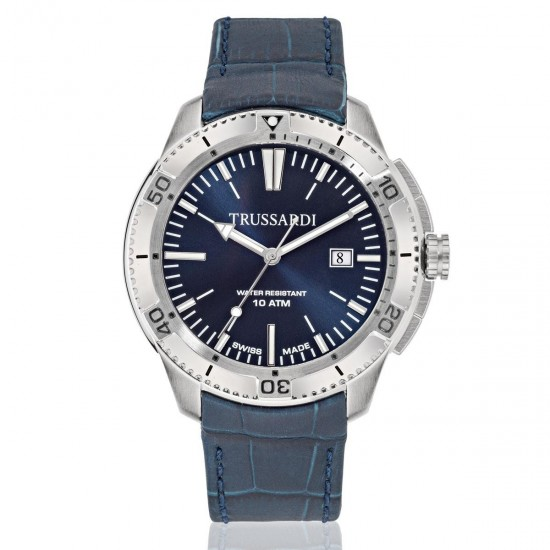 Trussardi Watch Only Time Man Sportive Collection Blue