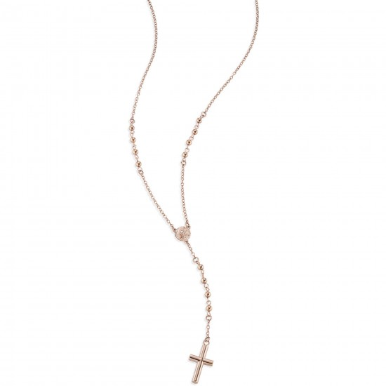 Sector Necklace Unisex Love and Love Collection Rose Gold