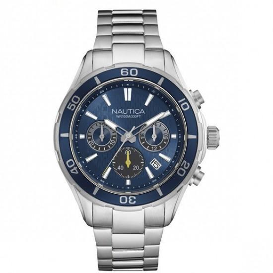 Nautica Orologio Uomo Cronografo Silver NAD18524G 124,50 €