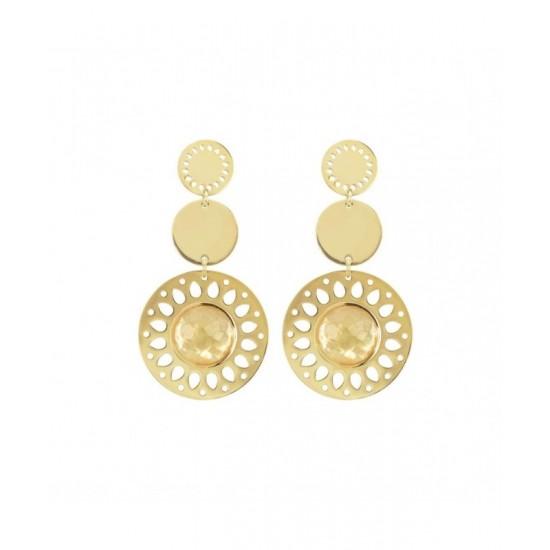 2Jewels Earrings Woman Pendants Circles Gold 261173 32,45 €