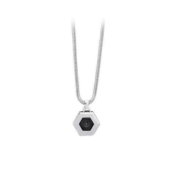 2Jewels Necklace Unisex Hexagon Collection Black 251333 27,30 €
