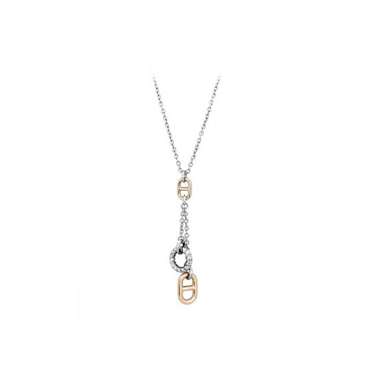 2Jewels Necklace Woman Modern Collection Rose Gold 251343