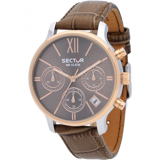 Sector Watch Woman Chronograph 125 Collection Brown R3271693501