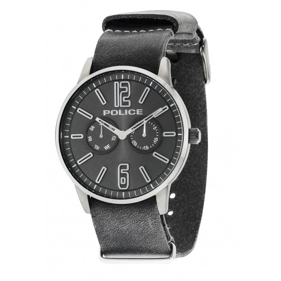 Police Watch Man Multifunction Esquire Collection Grey PL.