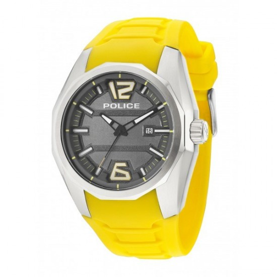 Police Watch Man Only Time Yellow PL. 14763JS/13 52,36 €