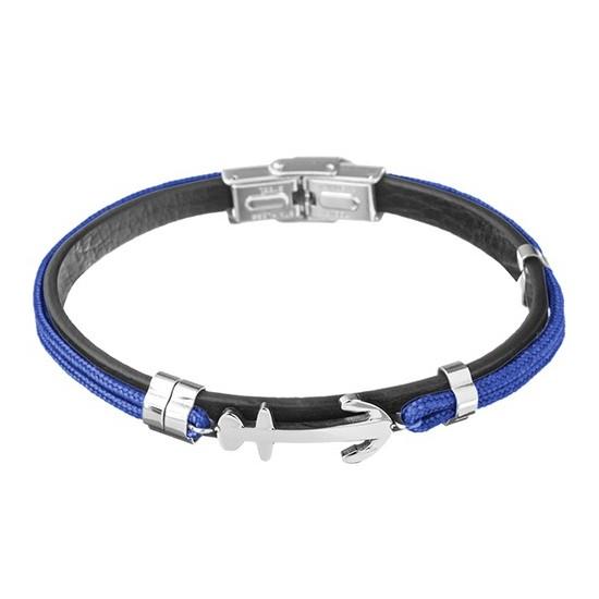 Lorenz Men's Bracelet Blue/Anchor LB0022 32,45 €