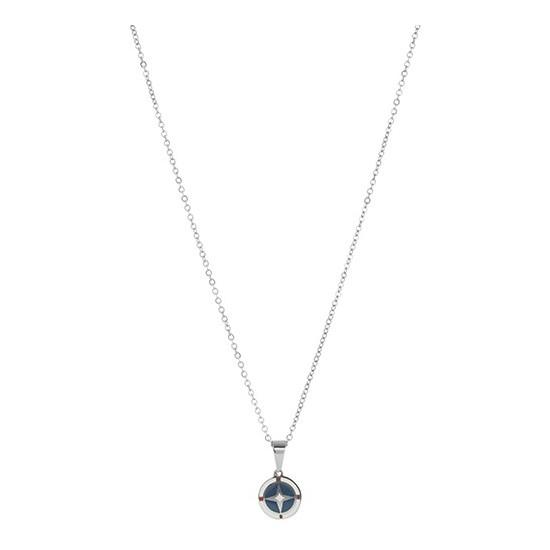 Lorenz Men's Necklace Wind Rose Blue LC0021 34,50 €