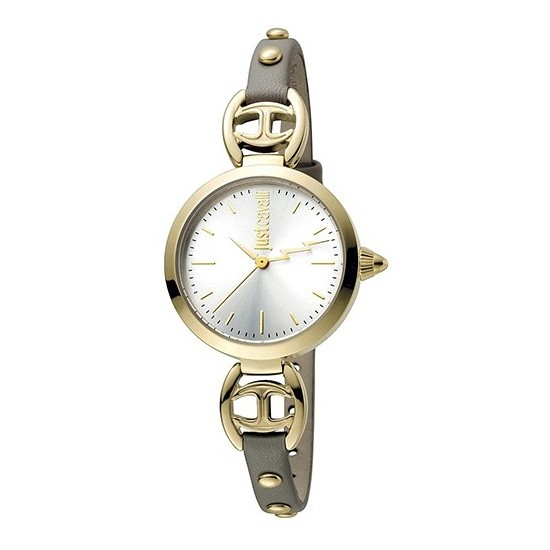 Just Cavalli Women's Watch Only Time Logo Collection Grigio