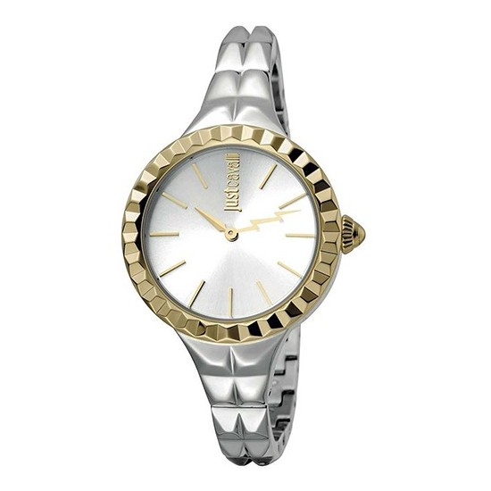 Just Cavalli Women's Watch Only Time Rock Collection Gold