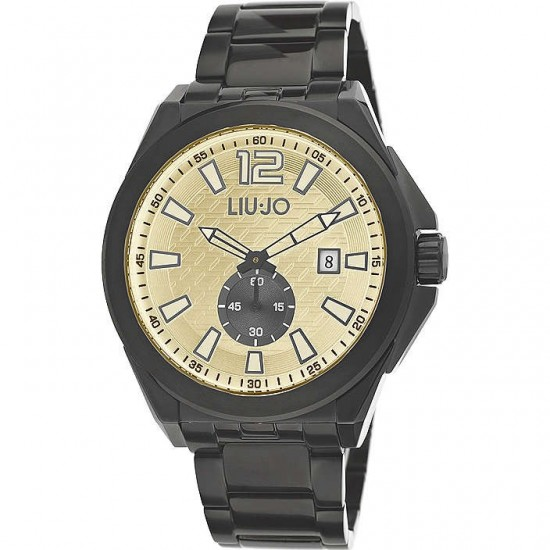 Liu Jo Men's Watch Only Time Temple Collection Black TLJ889